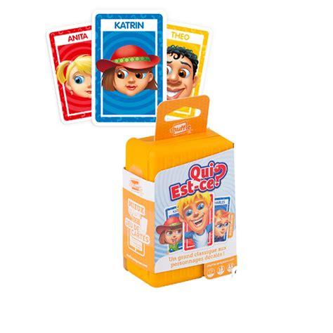 Asmodee Carte Qui Est Ce jeu de cartes shuffle qui est ce la grande r 233 cr 233 vente de jouets et jeux shuffle