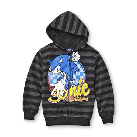 Hoodie Sonic The Hedgehog kami ichi lounge chair color black