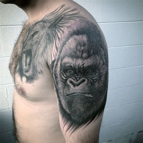 gorilla tattoo meaning 100 gorilla designs for great ape ideas