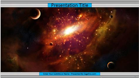 Free Space Powerpoint Template 9617 Sagefox Powerpoint Templates Microsoft Powerpoint Templates Space