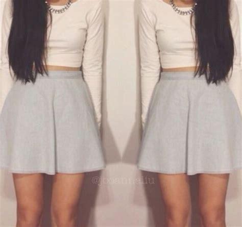 Micci Fashion Blouse Hughes Pink skirt skater skirt crop tops summer