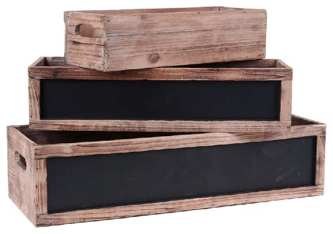 indoor window planter wood window box planters set of 3 rustic indoor pots