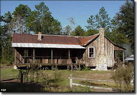 cracker style homes silver river state park florida state parks