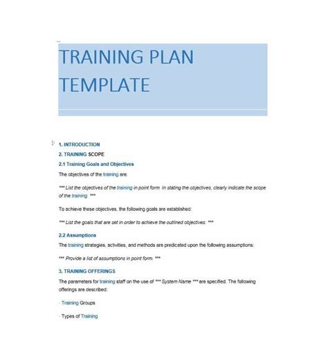 The Trainer Manual Template Training Manual 40 Free Templates Exles In Ms Word