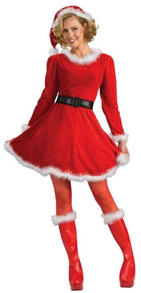 cute christmas outfits on pinterest christmas outfits lady santa claus christmas costume 42 88 christmas