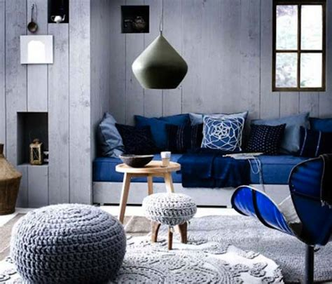 Blue Living Room by Blue And Black Bedroom Ideasdark Blue Living Room