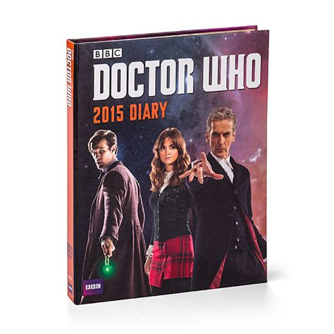 Doctor Who Desk Calendar by Doctor Who 2015 Day Planner