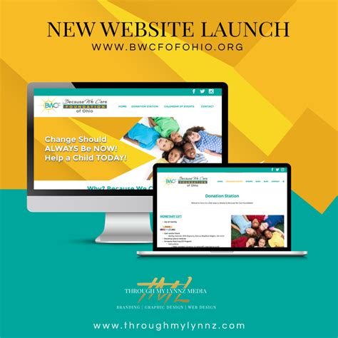 Because We Care Foundation Bwcfofohio Org Through My Lynnz Media Website Launch Template