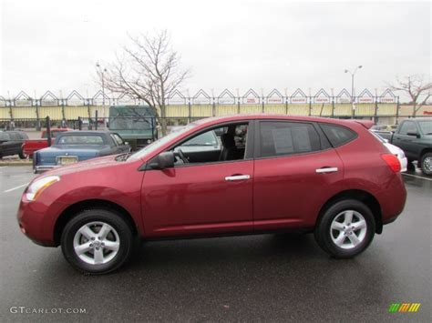 red nissan rogue venom red 2010 nissan rogue s awd 360 value package