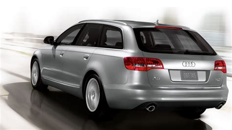 Audi A6 Avant 2010 by 2010 Audi A6 Avant Rear In Action Eurocar News