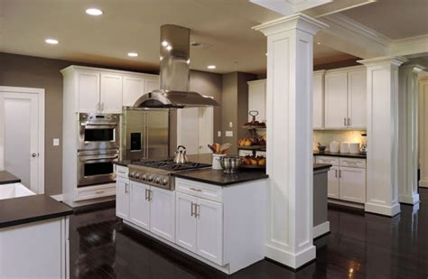 Kitchen Island Columns by 20 Beautiful Kitchen Island Designs With Columns