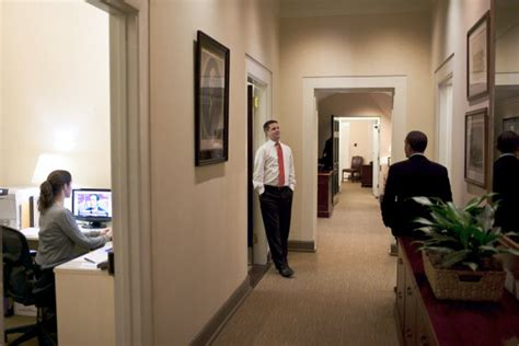 oval office corridor white house museum