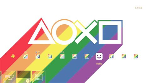 ps4 themes bug free ps4 theme from sony celebrates lgbt pride month