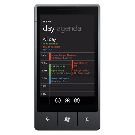 Calendar App Windows Phone Stay On Top With These Windows Phone 7 Calendar Apps