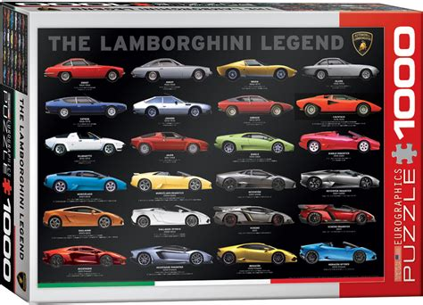 lamborghini the legend the lamborghini legend 1000 teile eurographics puzzle online kaufen