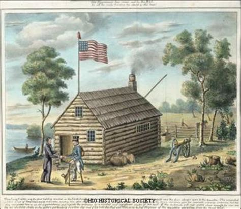 Log Cabin And Cider Caign by The 1840s