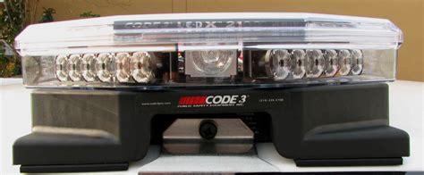 code 3 led light bar car lightbar covers