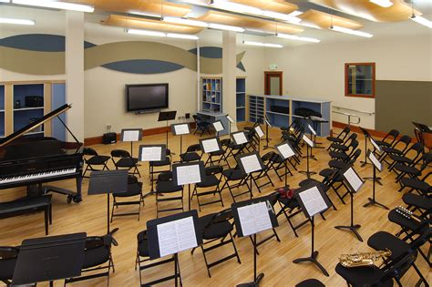 Band Room by Holy Names Academy 171 Brc Acoustics Audiovisual Design