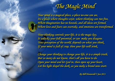 Magic And Mind the magic mind spiritual poetry