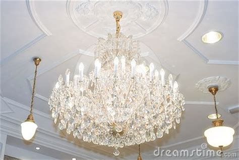 hanging from chandelier chandelier hanging from ceiling royalty free stock photo