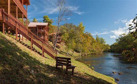 Hiwassee River Cabins by Hiwassee River Buffalo Ridge Cabin Rentals Of