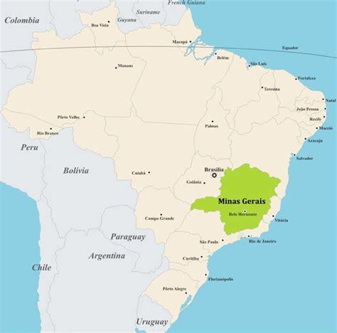 south america map belo horizonte companies based in minas gerais