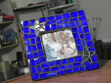 How To Make Handmade Frames For Pictures - how to make a mosaic picture frame hgtv