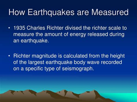 how are measured ppt what is an earthquake and how does it occur