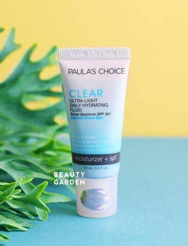 paula s choice clear ultra light daily fluid spf 30 kem dưỡng paula s choice clear spf30 bảo vệ da khỏi uv