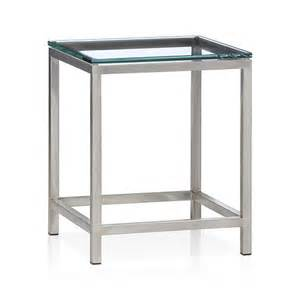 Crate And Barrel Side Table Era Side Table In Coffee Tables Side Tables Crate And Barrel