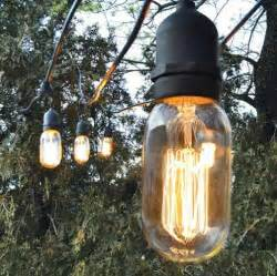 Outdoor Electric String Lights Outdoor Cafe String Lights Barn Light Electric