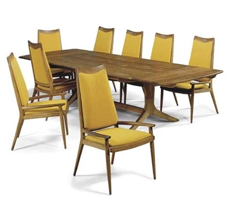 72 dining table 8 chairs dining table 8 chairs set of 9 by sam maloof on artnet