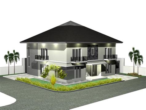 modern home design plans 3d 3d house plan design modern home minimalist minimalist