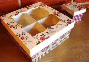 Decorative Folders Cajas De Te En Madera Decoradas En Decoupage Decoupage