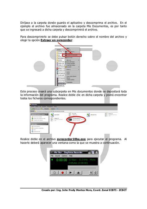 tutorial video recorder tutorial step voice recorder