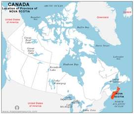 scotia map canada free scotia location map location map of
