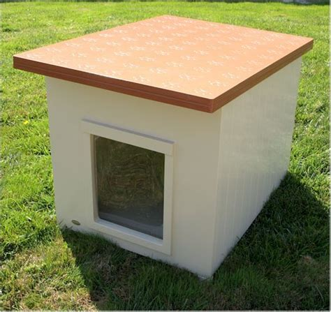 rubbermaid dog house make round picnic table how to build a simple flat roof dog house