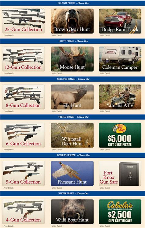 Sweepstakes Fine Print - big nra sweepstakes 600 winners no cost to enter 171 daily bulletin