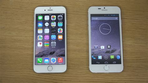 V Iphone 6 Iphone 6 Vs Goophone I6 Review 4k