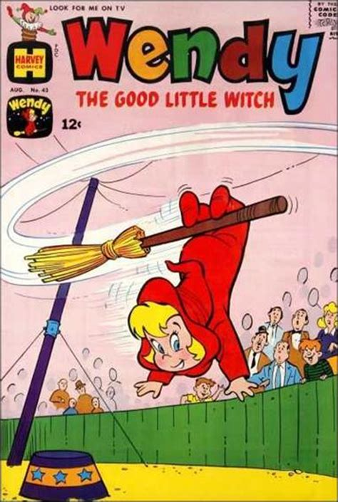 wendy the good little witch comic book wendy the good little witch 43 a aug 1967 comic book by