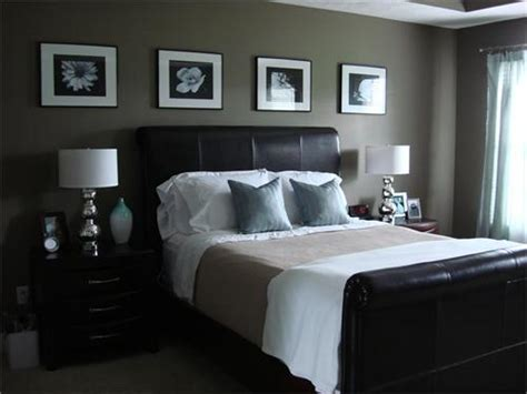dark brown bedroom walls an american housewife espresso and platinum