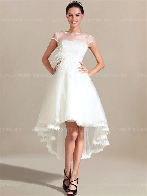 high  beach wedding dress