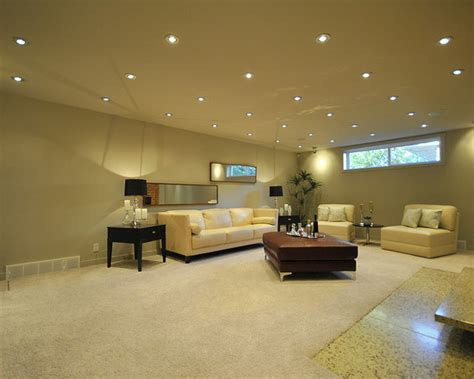 Recessed Lighting Basement Ceiling by Basement Lighting