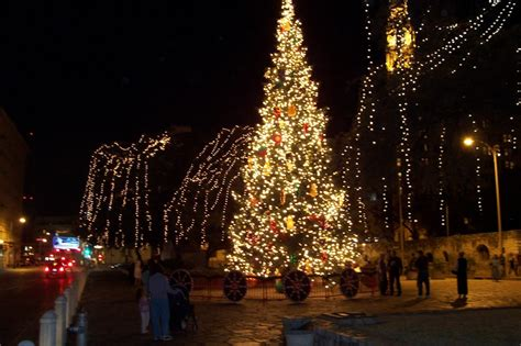 san antonio tx downtown christmas tree photo picture