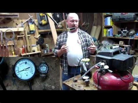 96 converting an air compressor into a vacuum