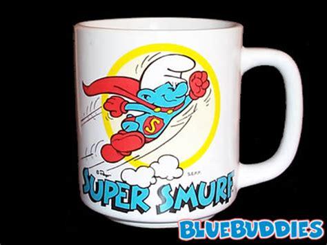 smurf mugs super smurf mug