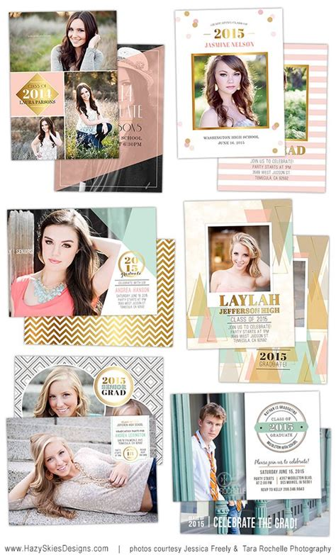 17 Best Ideas About Graduation Templates On Pinterest Graduation Invitations Senior Digital Graduation Announcements Templates
