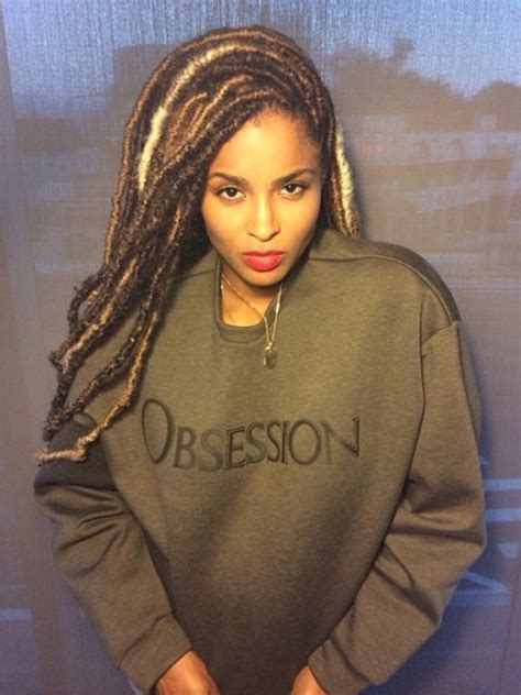 latest dread ciara faux lock extensions dreadlocks natural hair