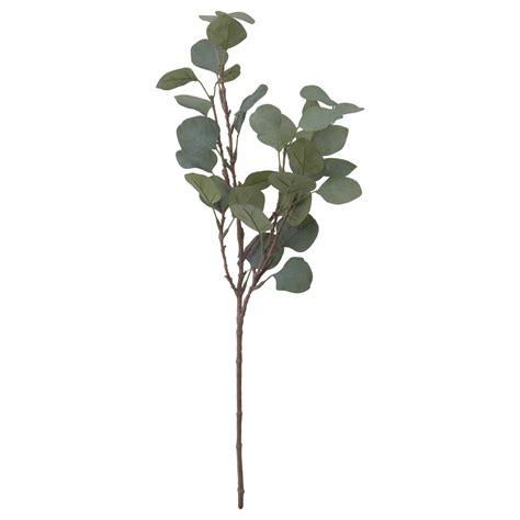 ikea leaves smycka artificial leaf eucalyptus green 65 cm ikea