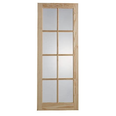 Wickes Exterior Door Wickes Newland Glazed Door 8 Lite 1981x762mm Wickes Co Uk